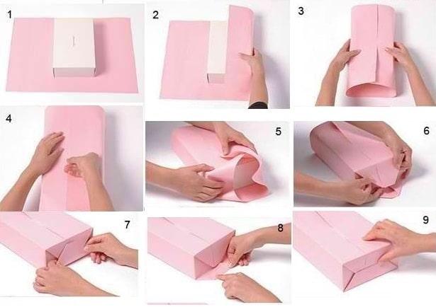 Упаковка коробки подарочные контейнеры из ткани купить