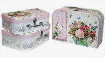 Коробка/набор Сундучок Цветы 322*230*125 из 3 шт./ 16 т.м.