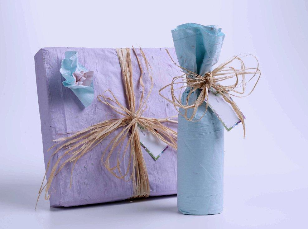 как упаковать подарок в подарочную бумагу фото это будет